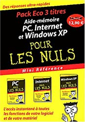Pack Eco 3 titres : PC, Internet et Windows XP
