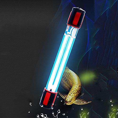Acuario Esterilizador bactericida UV Tratamiento del Agua Purificador Depósito de Peces Estanque Desinfección...
