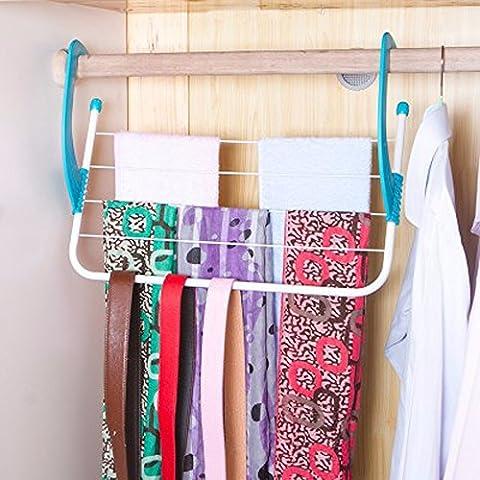 KHSKX Pieghevole balconi multifunzionale appeso scarpa rack al di fuori della finestra di lavaggio bagno appendere asciugamani