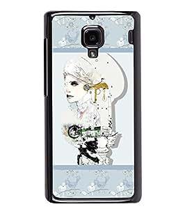 Fuson 2D Printed Designer Back case Cover for Xiaomi Redmi 1S - D4374
