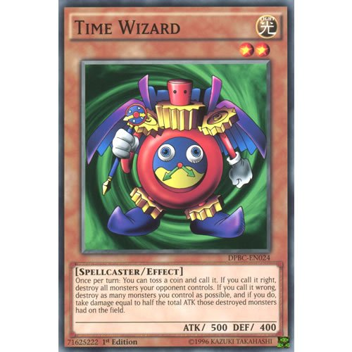 YuGiOh : DPBC-EN024 1st Ed Time Wizard Common Card - ( Battle City Duelist ) by Deckboosters