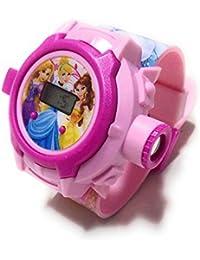N S D ONLINE SHOP Plastic Princess Projector Watch, 7-5 Year