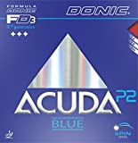 Donic Acuda Blue P2 Max Table Tennis Rubber (Red)