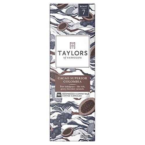 Taylors of Harrogate Espresso Coffee Nespresso Compatible Colombian Huila 10 capsules, 66.67g 5153a5vHBwL