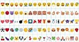 Gadgy Emoji Pack | Symbole für A4 Cinema LightBox | Smiley Set 85 Figuren | Leuchtkasten...