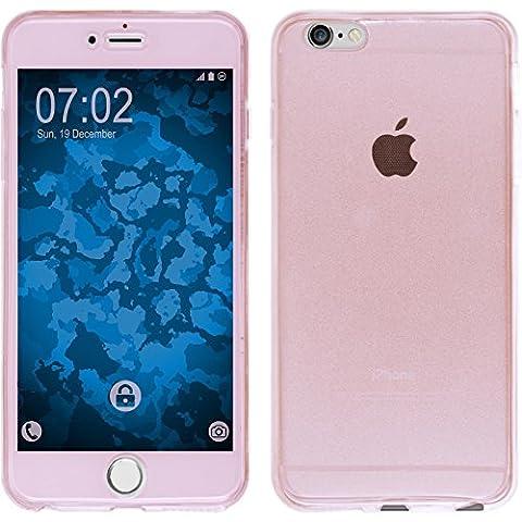Coque en Silicone pour Apple iPhone 6s / 6 - 360° Fullbody rose - Cover PhoneNatic Cubierta Case