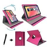 DENVER TAQ 10133 / 10.1 ' Tablet Pc Tasche mit 360 grad Drehfunktion - 10 Zoll Pink 360