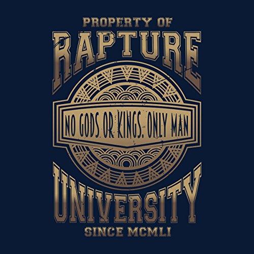 Bioshock Rapture University Women's Hooded Sweatshirt Navy Blue