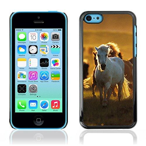 Graphic4You Pferd Tier Design Harte Hülle Case Tasche Schutzhülle für Apple iPhone 5C Design #5