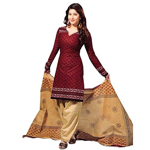 Indian Designer Bollywood Un genähtes Salwar Kameez Kleid Salwar (Anzüge Order Mail)