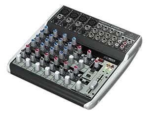 Behringer Q1202USB 230 V, Consolle di miscelazione, 230 V, 12 entranti con interfaccia audio USB