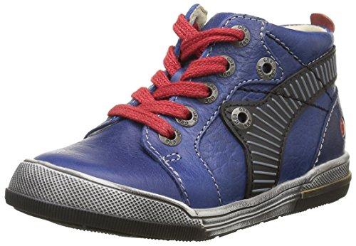 GBB Noah, Sneakers Hautes Garçons, Bleu (12 Vte Bleu/Rouge Dpf/Manbo), 27 EU