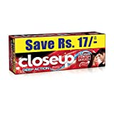 Closeup Fresh Action Red Hot Gel Toothpa...