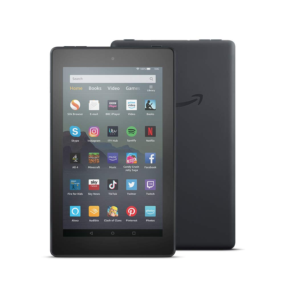 Fire 7 Tablet   7″ display, 16 GB, Black – with Ads
