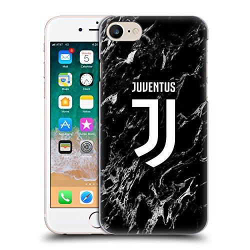 Head Case Designs Ufficiale Juventus Football Club Nero 2017/18 Marmoreo Cover Retro Rigida per iPhone 7 / iPhone 8