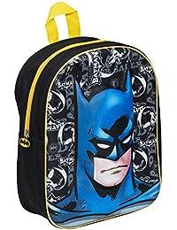 Batman Boys 3D Backpack Rucksack School Bag 9d4bc2bd6dea6