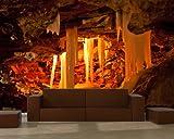 selbstklebende Fototapete - Grotte in Kungur Ice Cave - Russland - 300x200 cm - Wandtapete – Poster – Dekoration – Wandbild – Wandposter - Bild – Wandbilder - Wanddeko