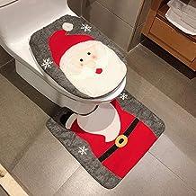 Copri Wc Babbo Natale.Amazon It Copriwater Di Babbo Natale 3 Stelle E Piu