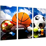 Cuadro Moderno Fotografico Juegos Deportivos, Futbol, 97 x 62 cm ref. 26393
