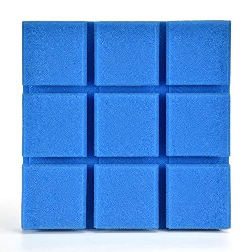 Winnerruby Akustikplatten, quadratische Wandtattoo Wand Schalldämmung Schalldämpfung für zu Hause klassenzimmer KTV, 30 30 cm