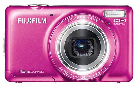 """Fujifilm FinePix JX420 Cámara compacta 16MP 1/2.3"""" CCD 4608 x 3440Pixeles Rosa - Cámara Digital (16 MP, 4608 x 3440 Pixeles, CCD, 5X, HD, Rosa)"""