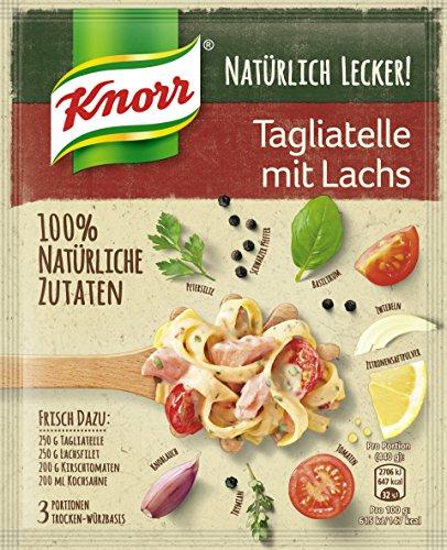 Knorr Natürlich Lecker! Tagliatelle mit Lachs, 39 g