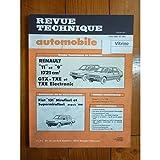 RTA0443 - REVUE TECHNIQUE AUTOMOBILE RENAULT R9 et R11 1721cm3 GTX-TXE-TXE Electronic