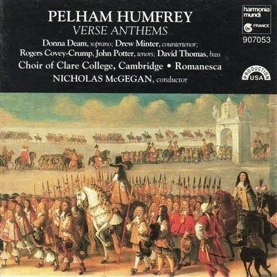 Pelham Humfrey: Verse Anthems