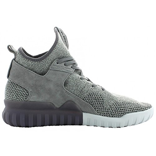 adidas Tubular X Primeknit, Sneakers Basses Homme Gris (Ch Solid Grey/utility Black/crystal White)