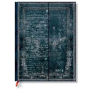 Faszinierende Handschriften Saint-Exupery - Kalender 2014 Groß Tagesüberblick - Paperblanks