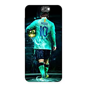Premier Number Ten Multicolor Back Case Cover for HTC One A9