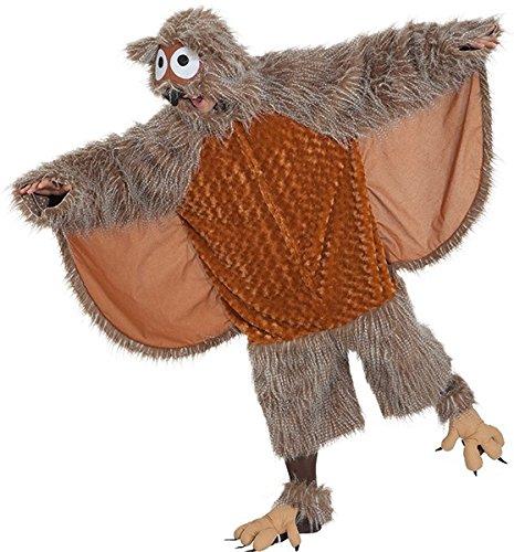 Kostüm Eule Einheitsgröße Overall Eulenkostüm (Eule Kostüm Flügel)