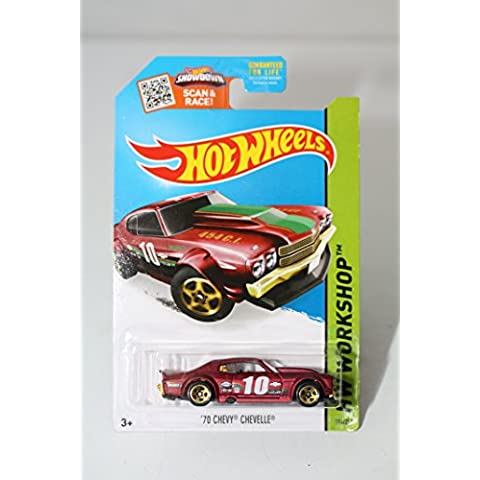 2015 Hot Wheels 70 Chevy Chevelle 194/250 by Hot Wheels - 70 Chevy Chevelle