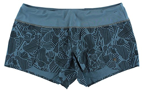 Womens Pureproject 3,5-Zoll-Printed Shorts Navy L (Shorts Spandex Brooks)