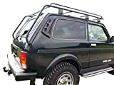 Lada NIVA Taiga 4X4 - Portaequipajes para Techo (Muy Largo, 2400 mm)