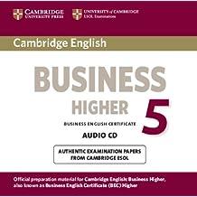 Cambridge English Business 5 Higher Audio CD (BEC Practice Tests)