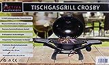 Tischgasgrill Activa Integriertes Thermometer im Deckel Grillfläche: 49 x 37 cm