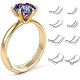 Huemny - Riduttori invisibili per anelli, per regolare la dimensione di anelli larghi, per uomini e donne, 8 pezzi