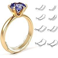 Regolatore di Misura dell'anello, Dimensioni dell'anello Riduttore Invisibile Anelli Sciolti Misura 8 Regolatore di…