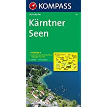 Kompass Karten, Kärntner Seen (KOMPASS-Panoramakarten, Band 337)