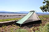 Aqua Quest West Coast Bivy Biwak Zelt - 1-Person 1-Zeltstange - Grün