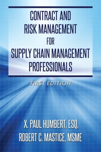 contract-and-risk-management-for-supply-chain-management-professionals