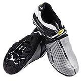 WESTGIRL per scarpe da ciclismo copre riflettente mezza Shoecover impermeabile antivento bici scarpe copriscarpe Protector, Silver, XL