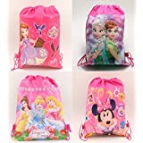 e48b523d2cbb Jiada Return Gifts Set of Cartoon Printed Kids Haversack Bags (Pack of 6  for Girls