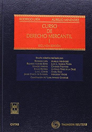 CURSO DE DERECHO MERCANTIL Vol. I
