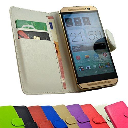 2 in 1 set Tasche für Haier Phone L53 Slide Kleber Hülle Case Cover Schutz Bumper Etui Handyhülle in Weiß