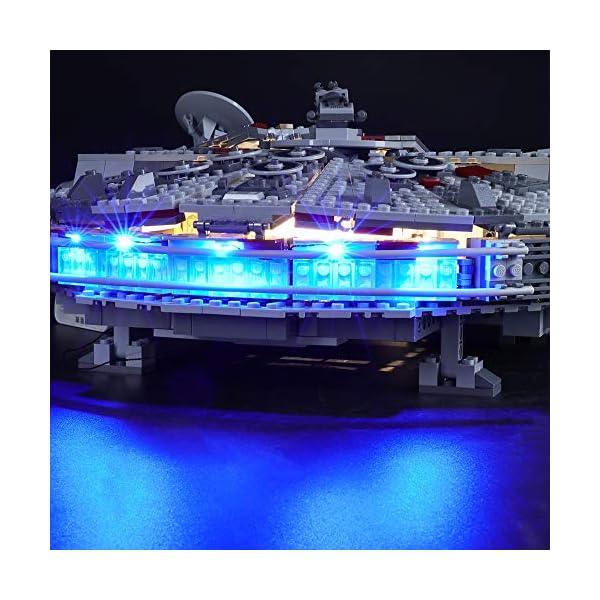 BRIKSMAX Kit di Illuminazione a LED per Lego Starwars Millennium Falcon,Compatibile con Il Modello Lego 75257 Mattoncini… 5 spesavip