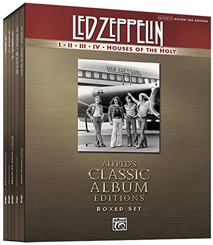 Led Zeppelin I-Houses of the Holy (Boxed Set): Authentic Guitar Tab, Book (Boxed Set) (Alfred's Classic Album Editions)