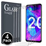 Ferilinso Verre Trempé pour Honor 20 Lite/Honor 10 Lite/Huawei P Smart 2019/ Huawei P Smart Plus 2019,[4 Pièces] Protection écran Vitre Tempered avec Garantie de Remplacement à Durée de Vie