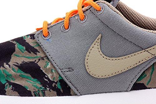 Nike Rosherun Print (GS) jugend Sneaker cool grau bamboo medium oliv 002
